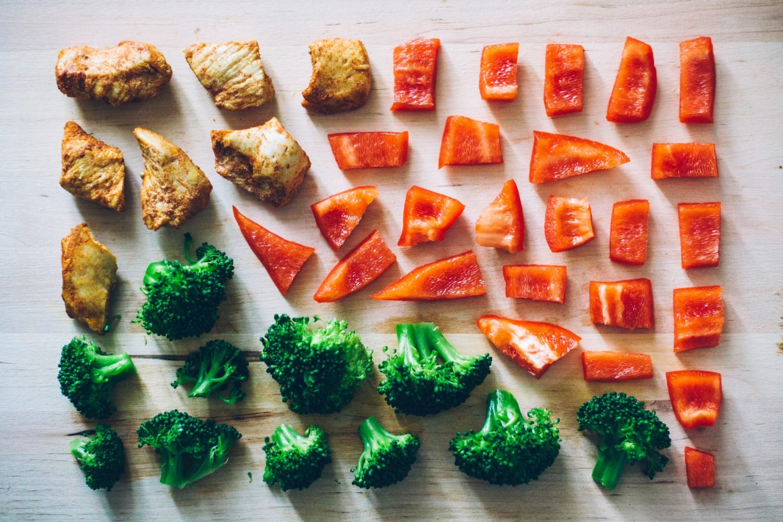 papryka i brokuly
