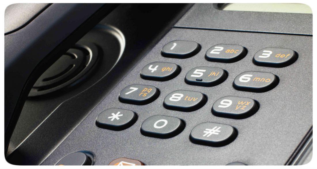 telefon duzy